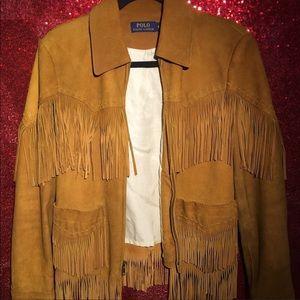 Ralph Lauren Fringe Jacket